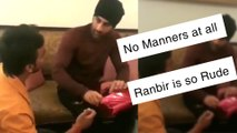 Ranbir Kapoor INSULTED For DISRESPECTING A Fan Who Touches His Feet
