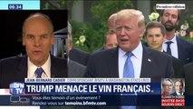 Donald Trump menace de taxer davantage le vin français