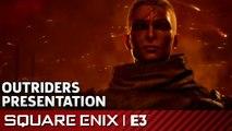 Outriders Full Presentation | Square Enix Press Conference E3 2019