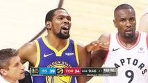 Golden State Warriors vs Toronto Raptors - Game 5 - 1st Half Highlights - 2019 NBA Finals