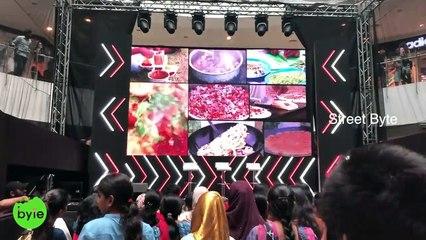Street Byte at YouTube Fan Fest 2019 at Forum Sujana Mall, Hyderabad