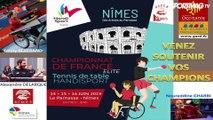 Championnat de France tennis de table handisport - Olivier Skenadji