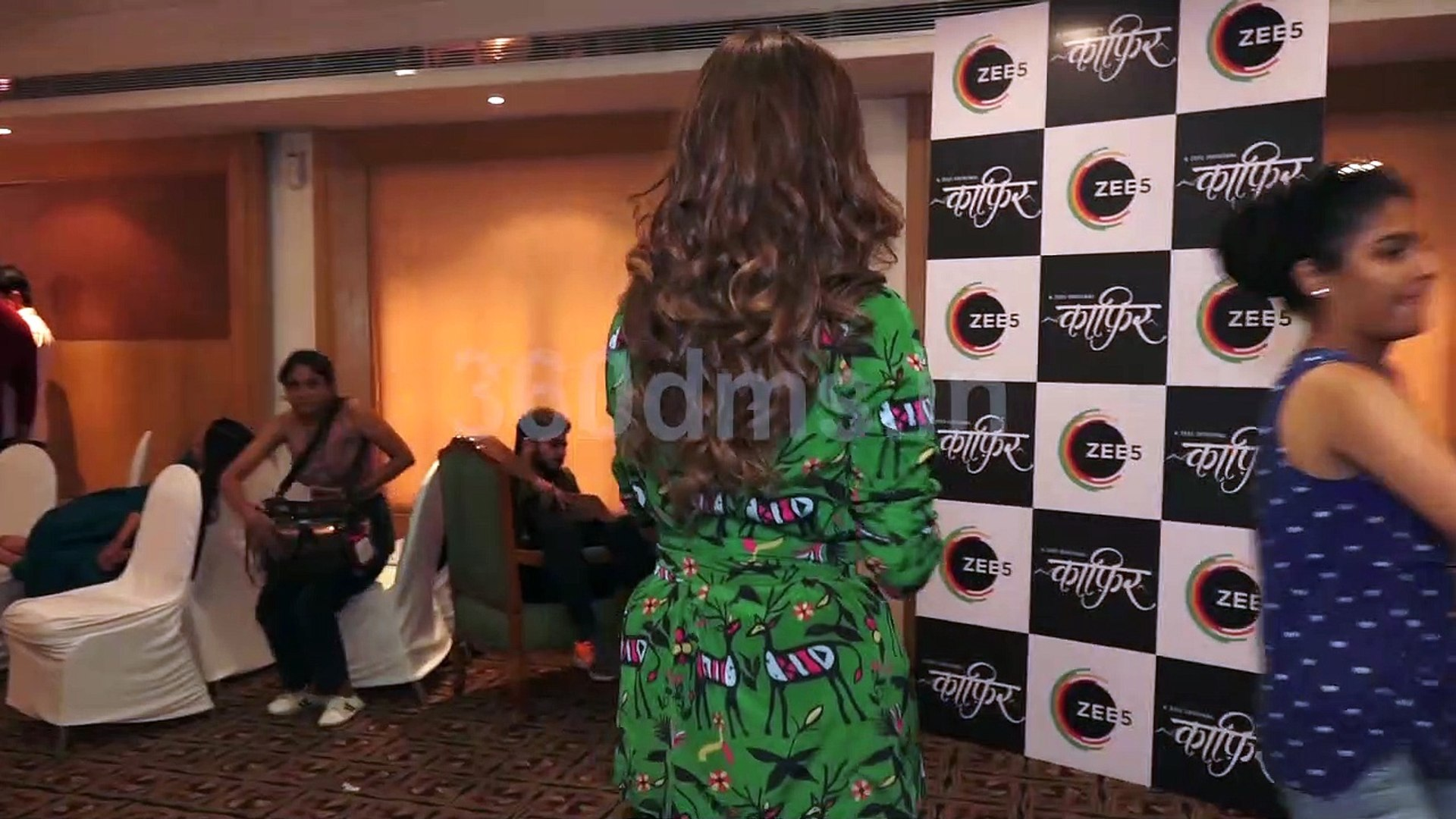 Bollywood Actress Dia Mirza Promotes Her Upcoming Web Show Kaafir