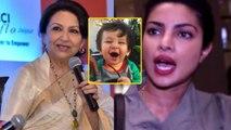 Taimur Ali Khan's grand mother Sharmila Tagore's shocking statement on Priyanka Chopra | FilmiBeat