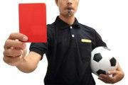 5 cartons rouges inoubliables dans le foot