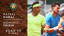 Road to Final: Rafael Nadal vs Dominic Thiem - Roland-Garros 2019
