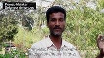 """Un temple indien au secours de tortues """"éteintes"""""""