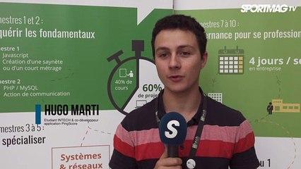 Championnat de France Elite tennis de table handisport - Hugo Marti