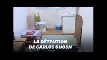 Les images de la prison japonaise où a été détenu Carlos Ghosn