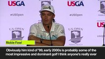 (Subtitled) 'He was playing a different tournament' Fowler on Tiger in 2000
