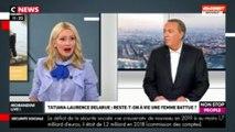 Morandini Live : Tatiana-Laurence Delarue se confie sur son passé de femme battue (vidéo)