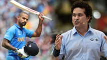 ICC Cricket World Cup 2019 : Sachin Tendulkar Wants Shikhar Dhawan To Break His Record In World Cup