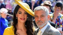 George and Amal Clooney  'Have Dinners' With Prince Harry and Meghan, Of Course