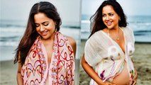 Sameera Reddy's Maternity Photoshoot