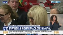 BFMTV : Brigitte Macron et Carole Bouquet en déplacement à Saint-Malo 11/06/2019