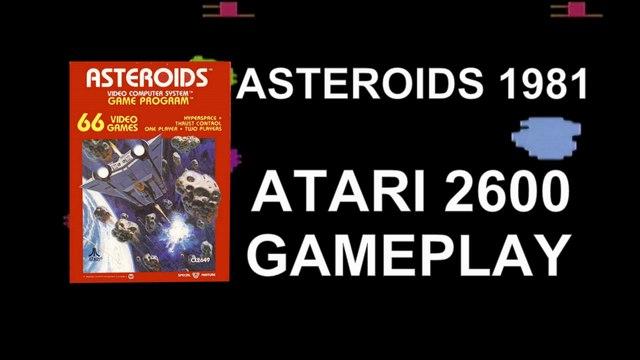 Playing ASTEROIDS - Atari 2600  (1981)
