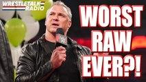 WORST WWE Raw EVER?! Tag Titles CHANGE HANDS! WWE Star Injury SCARE!! - WrestleTalk Radio