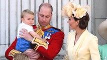 Le prince Louis a fait sa première apparition en public