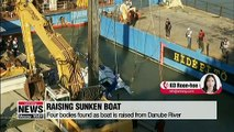 More bodies found as boat is raised from the Danube