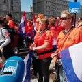 Coupe du Monde féminine 2019 : Fan Parade des supporters des Pays-Bas au Havre
