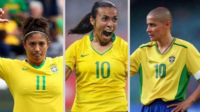 Veja as artilheiras do Brasil nas Copas do Mundo feminina