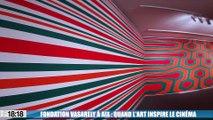 Fondation Vasarely à Aix : quand l'art inspire le cinéma