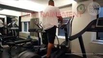 L'entraînement de DJ Khaled, en pleine transformation de son corps
