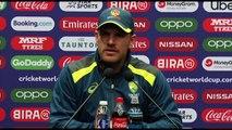 Australia's Aaron Finch pre Pakistan