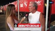 #IRTV Fan Cam ¿Cómo vieron los hinchas a Cecilio Domínguez en su debut?