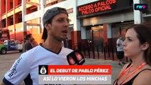 #IRTV Fan Cam ¿Cómo vieron los hinchas el debut de Pablo Pérez?