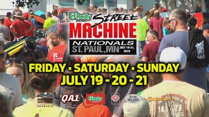 O'Reilly Auto Parts Street Machine Summer Nationals - July 19-21, 2019