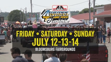 A&A Auto Stores 4-Wheel Jamboree Nationals - July 12-14, 2019