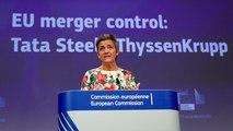 Bruxelas veta fusão da Thyssenkrupp com a Tata Steel
