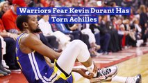 Kevin Durant Could Be Badly Injured