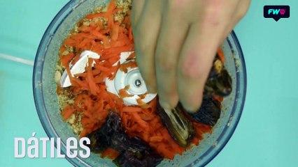 Bocaditos dulces de Zanahoria