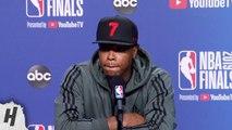 Kyle Lowry Postgame Interview - Game 5 - Warriors vs Raptors - 2019 NBA Finals