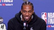 Kawhi Leonard Postgame Interview - Game 5 - Warriors vs Raptors - 2019 NBA Finals