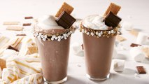 Boozy S'mores Milkshake Will Light Up Summer
