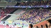 Belgique-Ecosse: le somptueux hymne des supporters écossais