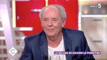 Maxime Le Forestier évoque sa première télé, entouré de Johnny Hallyday suicidaire et Michel Polnareff sous cachets