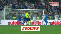 Les buts d'Italie-Bosnie-Herzégovine - Foot - Qualif. Euro