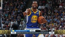 The Jim Rome Show: Raptors fans cheer Durant injury
