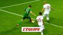 Le but de Mcnair face à la Biélorussie - Foot - Qualif. Euro