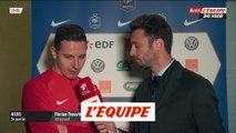 Thauvin «On gagne avec la manière» - Foot - Qualif. Euro - Bleus