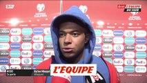 Mbappé «On a fait le travail» - Foot - Qualif. Euro