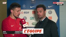 Lenglet «J'ai essayé de profiter du moment» - Foot - Qualif. Euro - Bleus