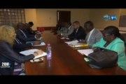 RTG/Les responsables de Gabon 1ère et Gabon 24 ainsi que le Directeur General de la Caisse de Depot et de Consignation étaient face au bureau des députés de la commission de la communication, de l'information et des technologies numériques