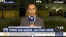 Le porte-parole du ministère de la Justice confirme qu'un otage de la prison de Condé-sur-Sarthe a été libéré