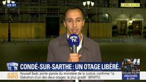 """L'otage libéré à Condé-sur-Sarthe """"est fortement choqué"""" d'après le porte-parole du ministère de la Justice"""