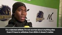 "(Subtitled) ""IAAF should 'focus on doping"" says Semenya as she wins 2000m race in Paris"